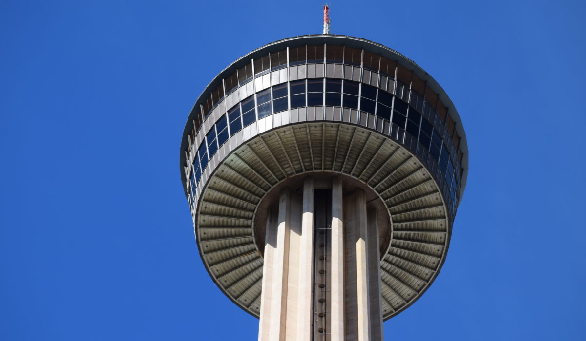 Tower of the Americas In San Antonio, Texas