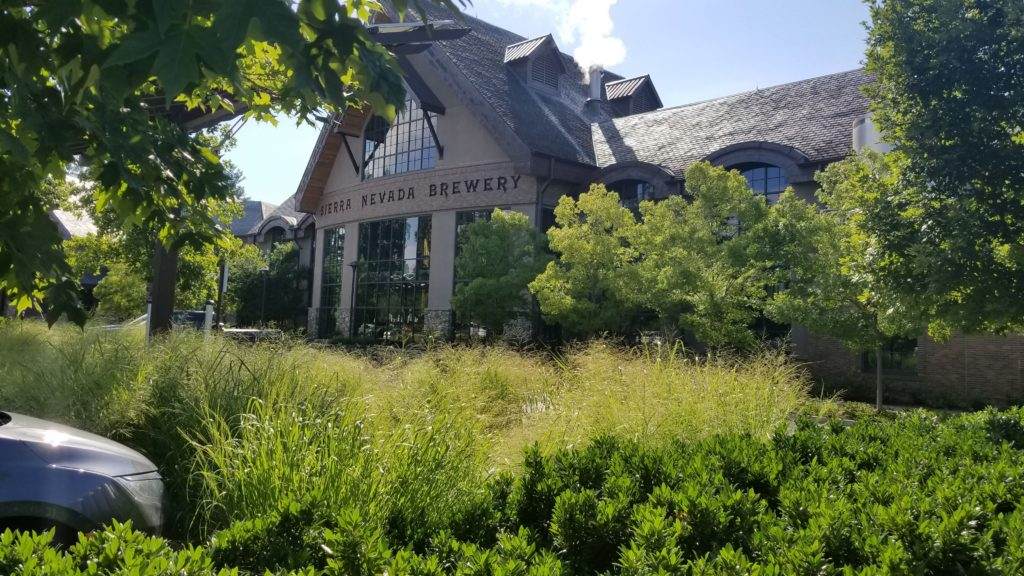 The Sierra Nevada Brewery outside Asheville