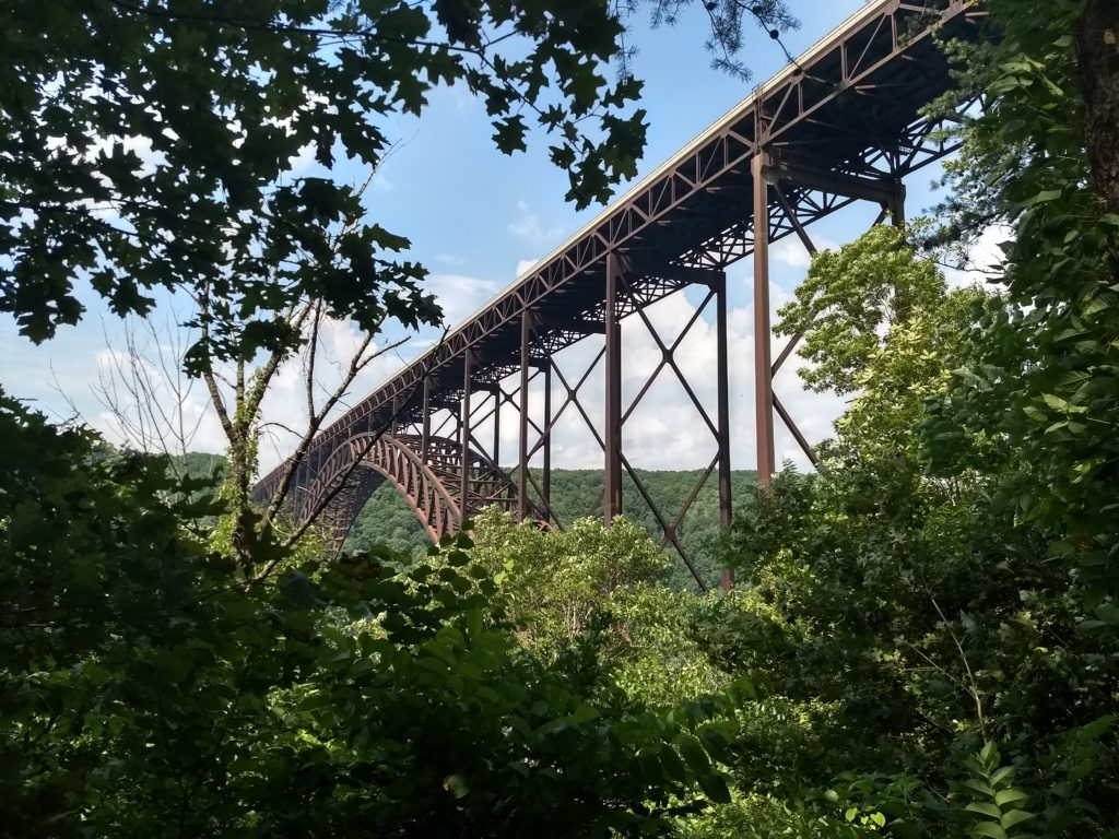 A bridge we saw in WV.
