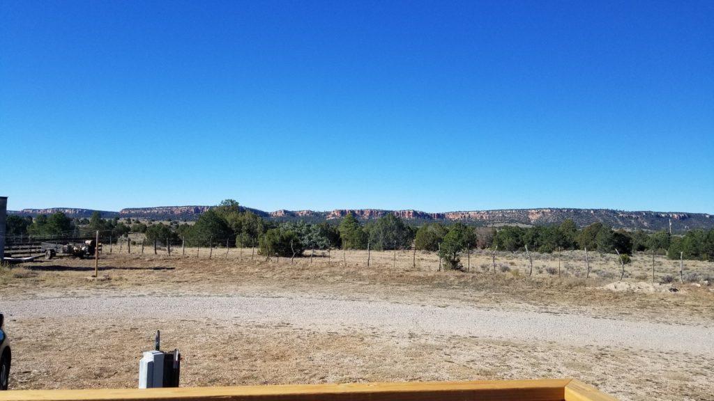 View of mesa