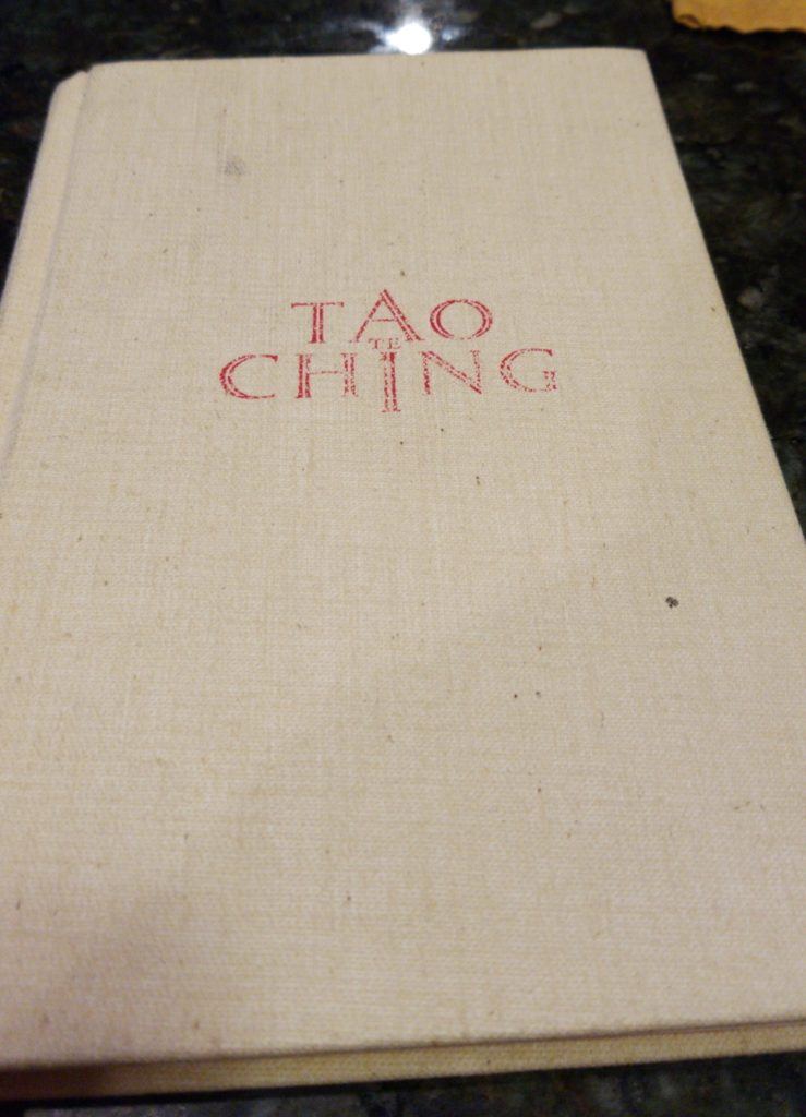 Cover of the Tao Ching