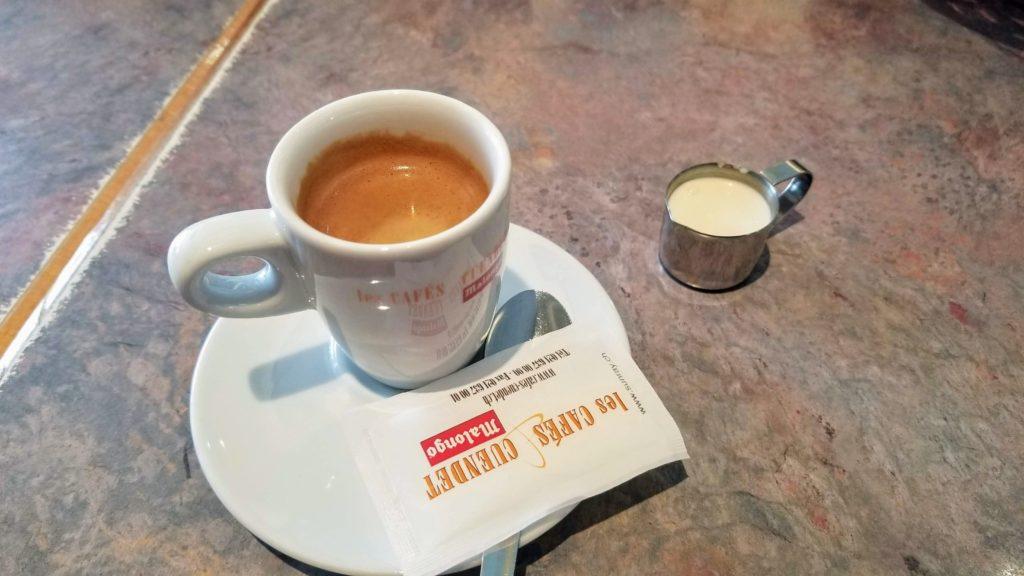 Espresso with cream