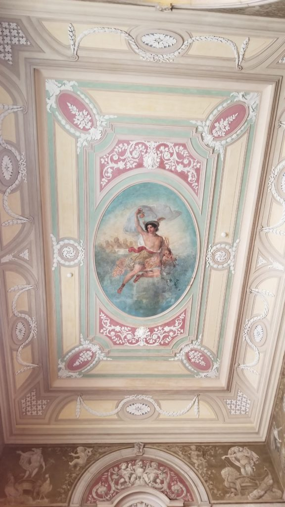 Ceiling detail at Chiado palace
