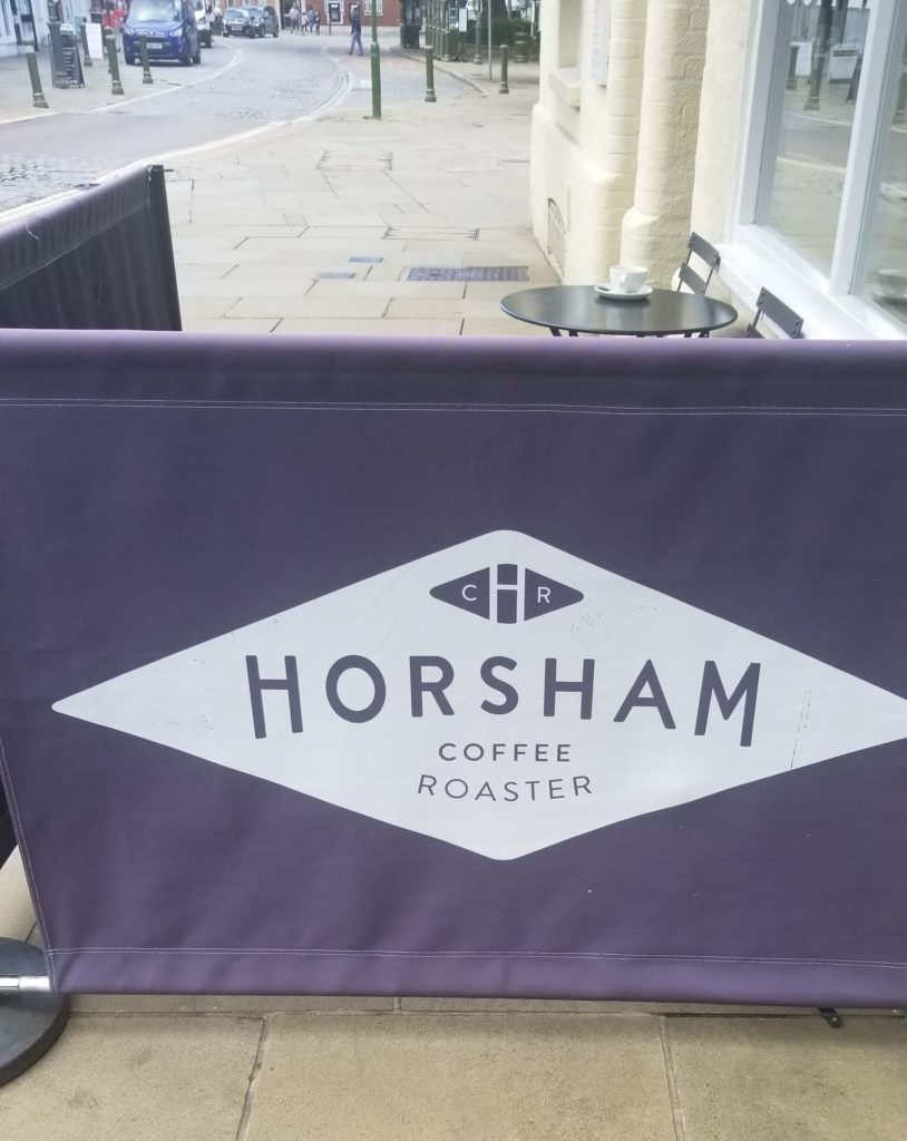 Horsham coffee roaster sign