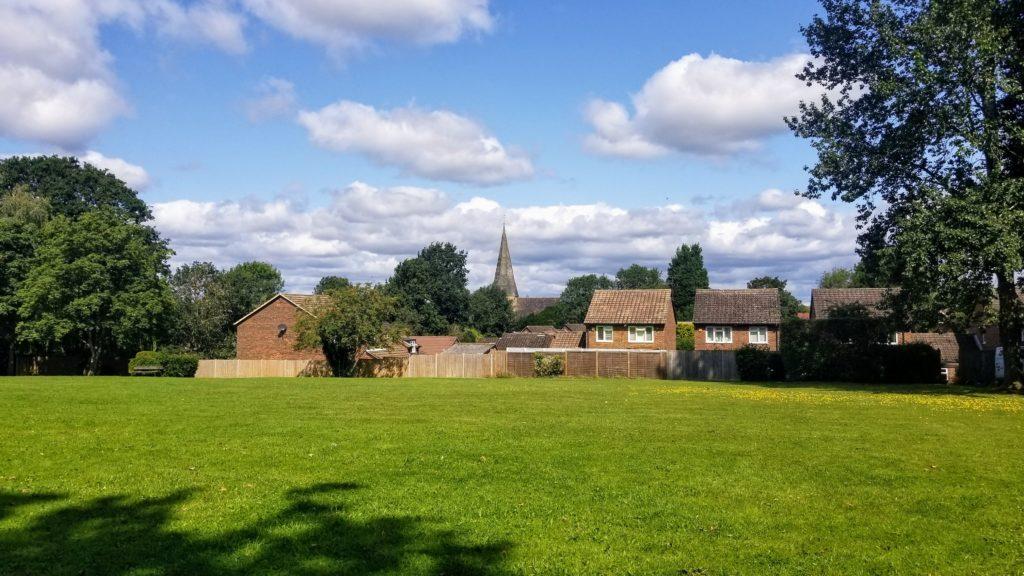 Billinghurst park lawn