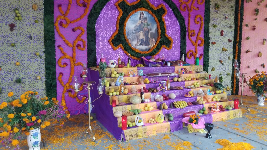 Alter in Naolinco. Manifested on my day with new friends.